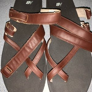 New balance Sandles with straps